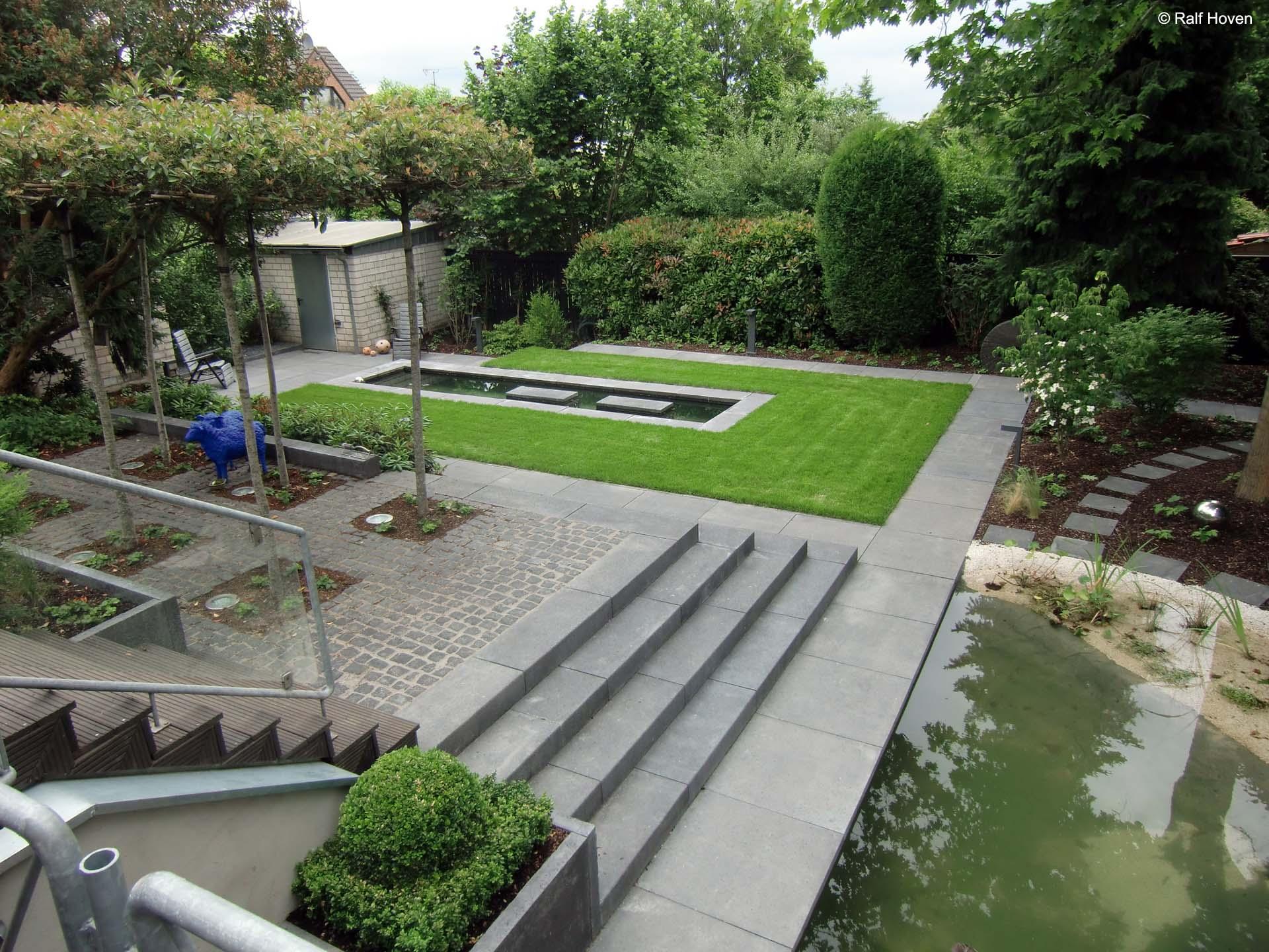 Gartengestaltung in Frechen-Königsdorf Farbe